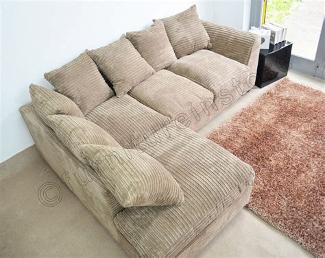 Settee Or Sofa by Caramel Jumbo Cord Fabric Sofas Settee Left Right