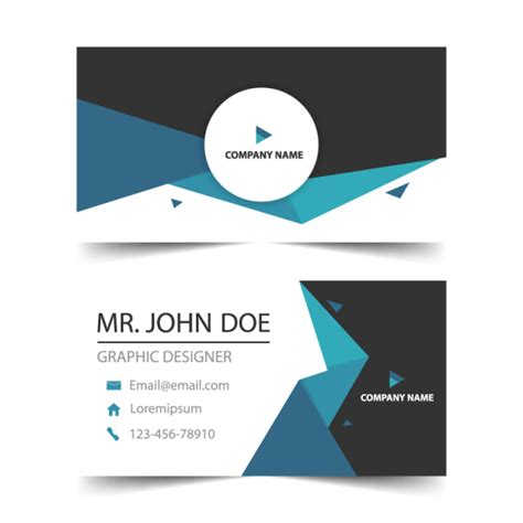 Business Card Template Png by Cart 227 O De Visita Cart 245 Es De Visita Modelo Horizontal