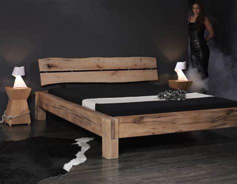 Selbstgebautes Bett