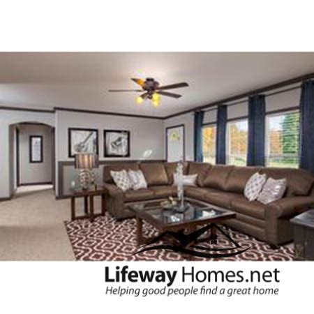 blue mobile home lifeway homes