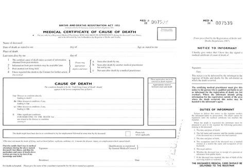Certification of Death (UK)   OSCE guide   Geeky Medics