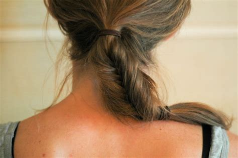 wikihow braid how to do a herringbone braid 10 steps with pictures