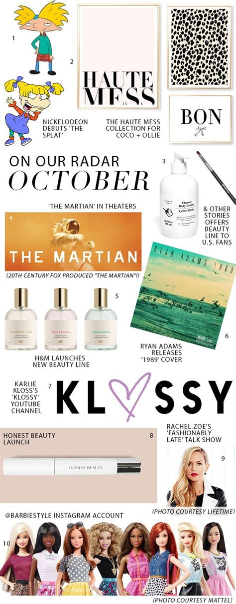 On Our Radar Is Fashionably Late on our radar for october glitter guide
