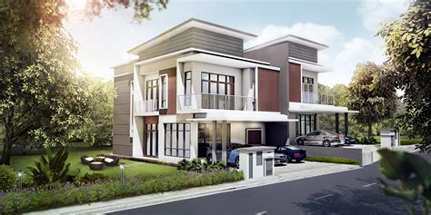 semo housing modern semi detached house plans modern house