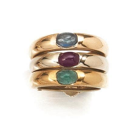 imitazioni pomellato anello in oro bianco oro rosa oro giallo rubino