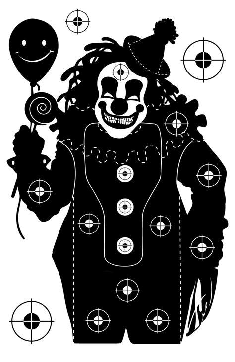 Funny Printable Gun Targets | clown shooting target at photosandfun com pinteres