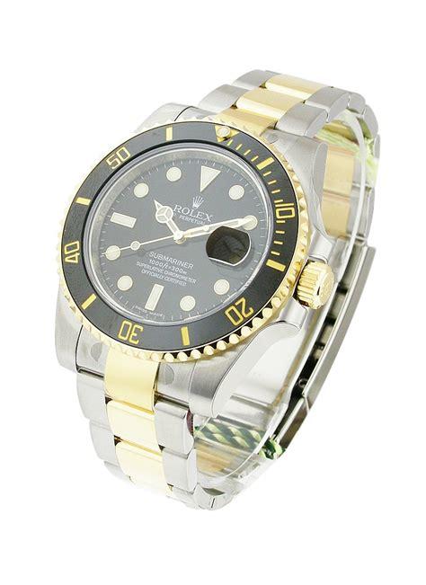 Rolex Submariner Automatic 2 116613 blk rolex submariner 2 tone essential watches