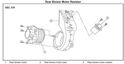 2009 nissan quest blower motor resistor location 2009 nissan quest blower motor resistor location 28 images nissan pathfinder blower motor