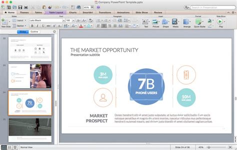 Powerpoint Templates For Mac Improve Presentation Powerpoint Mac Templates