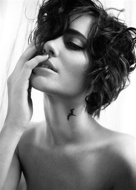 Neck Tattoo Elegant | elegant neck tattoo on inspirationde
