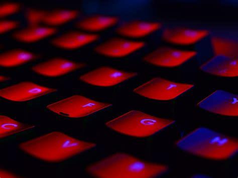 wallpaper  desktop laptop nu keyboard red dark