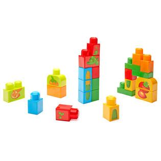 Mega Bloks Stacking Snacks Building Blocks Set Dpy42 mega bloks builders match n stack snacks