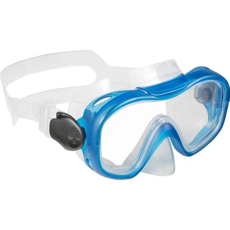 Diving Or Snorkelling Mask Subea By Decathlon 100 kids diving mask blue decathlon