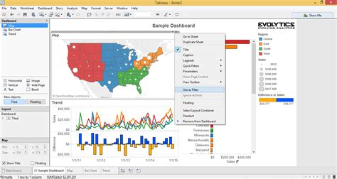 tableau tutorial with exles tableau 201 3 creative ways to use dashboard actions