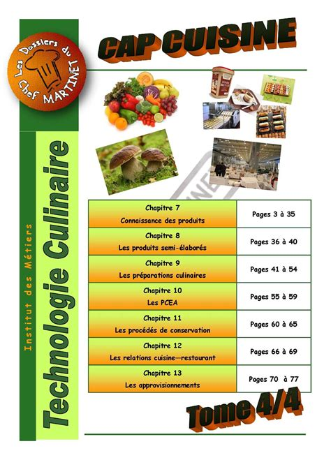 norme haccp cuisine calam 233 o technologie culinaire tome 4