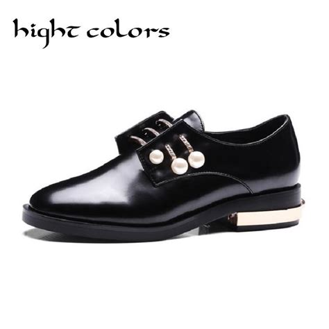 preppy oxford shoes 2017 vintage slip on oxford shoes with charms