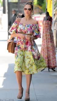 Copy Albas Fantastic Four Gucci Dress by Alba Triumphs In A Maternity