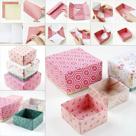 Easy Handmade Gifts For Friends - creative ideas diy origami gift box origami gifts
