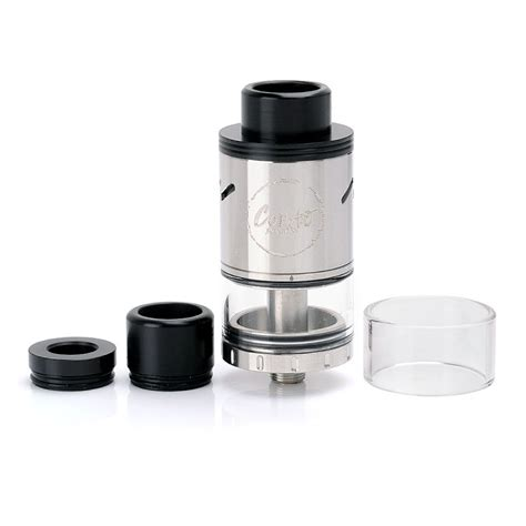 Rda Coilart Azeroth 24 Authentic Atomizer Black buy authentic coilart toruk tank sub ohm clearomzier black stainless steel 4ml 24mm