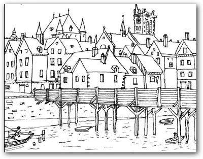 imagenes para colorear de paisajes dibujos de paisajes para colorear e imprimir buscar con