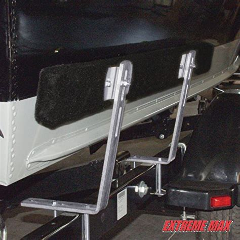 boat trailer guide ons extreme max 3005 2199 4 feet bunk trailer guide on pair