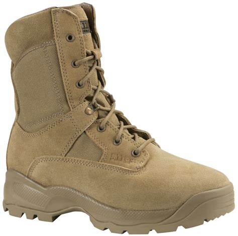 coyote boots 5 11 tactical a t a c 8 quot side zip boot coyote