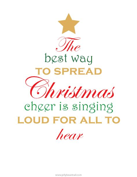 printable cheer quotes spread christmas cheer quotes quotesgram