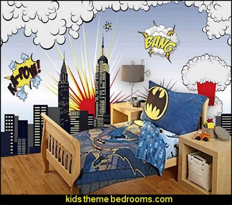 comic bedroom ideas decorating theme bedrooms maries manor superheroes
