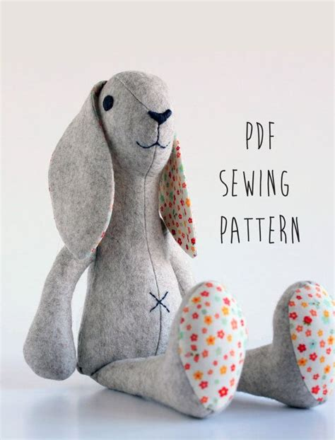templates for sewing animals templates for sewing animals printable rabbit sewing