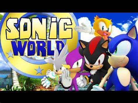 sonic world fan game amazing sonic fan game sonic world youtube