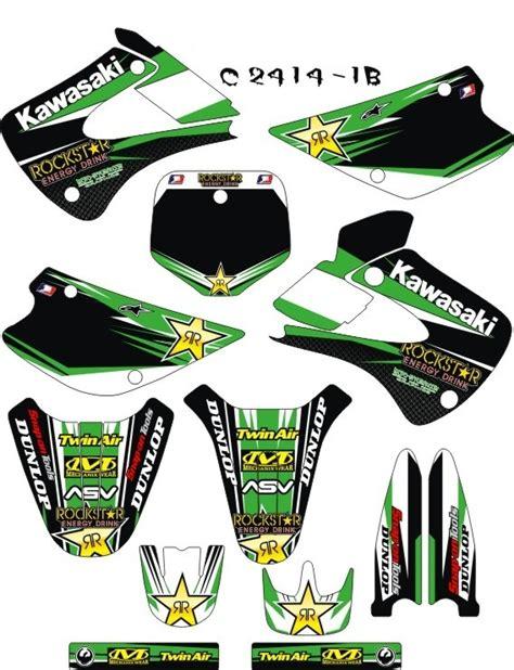 kawasaki kx 85 dekor kx 85 100 mx kingz motocross shop