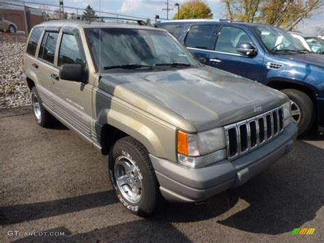 1997 char gold satin glow jeep grand laredo 4x4 72826970 gtcarlot car color