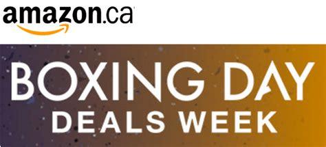 amazon canada amazon ca canada boxing day boxing week sale deals 2015