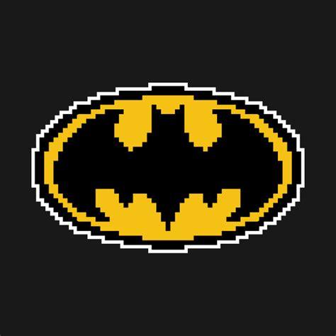 Tshirt Batman Logo Black B C pixel batman logo batman t shirt teepublic