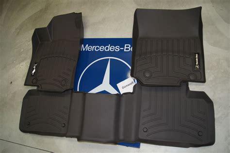 Mercedes Floor Mats Ml350 mercedes all weather floor trays liners carpet ml