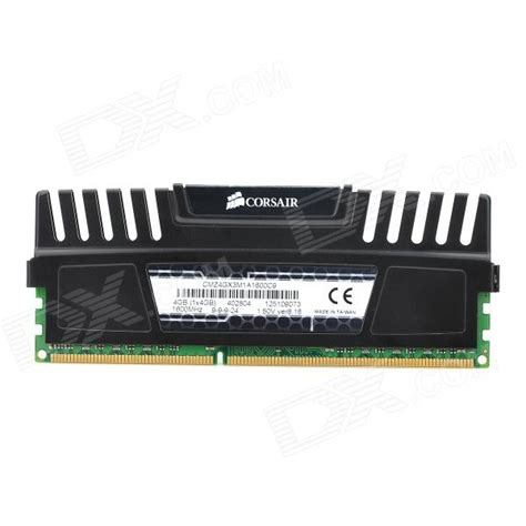 Memory Card Ddr3 corsair cmz4gx3m1a1600c9 4g 1600 ddr3 memory card for desktop computer black free shipping