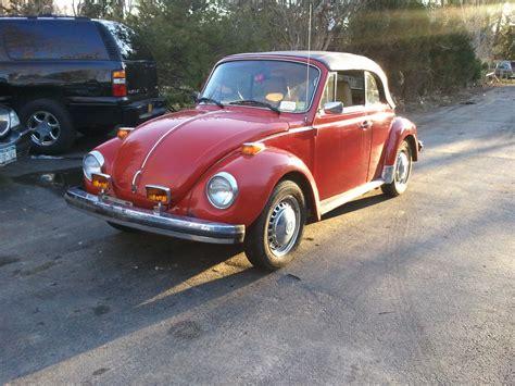 Volkswagen Dealer Nyc by 1980 Volkswagen Beetle Stock Redvwbeetle For Sale Near