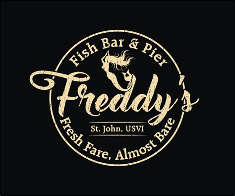 design a restaurant shirt personable masculine t shirt design for freddy s fish bar