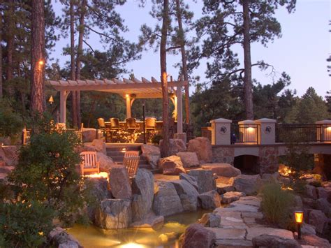 Backyard Landscape Lighting Lighting Tips For Every Room Hgtv