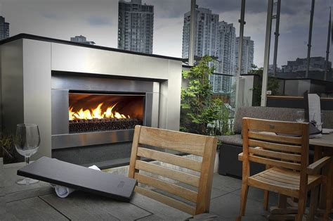 modern fireplace outdoor outdoor fireplaces chazelles fireplaces
