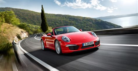 red porsche convertible 2012 red porsche 911 carrera cabriolet wallpapers