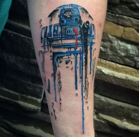 r2d2 tattoo 25 awesome wars tattoos form ink