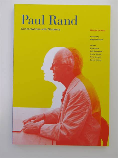 Paul Rand Conversations With Students Paul Rand