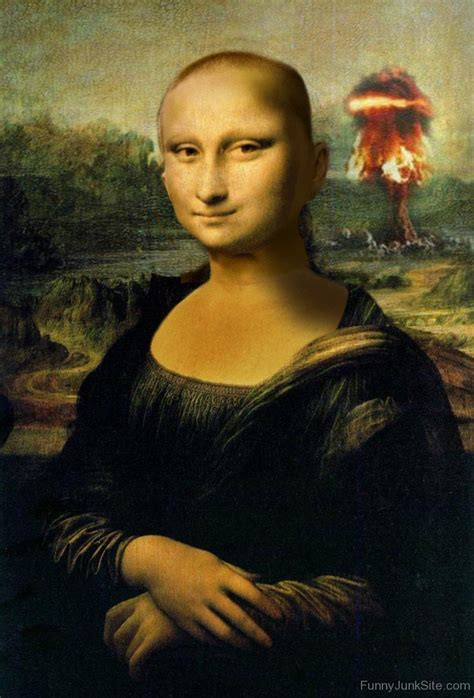is lisa on la hair a man funny mona lisa pictures 187 funny mona lisa without hair