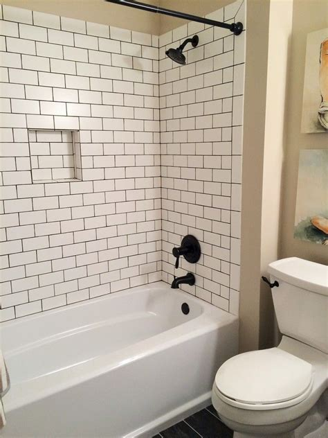 Subway Tile Bathroom Tub classic guest bath by blankspace llc pittsburgh pa