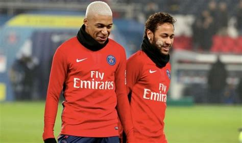 kylian mbappe and neymar real madrid news cristiano ronaldo must convince neymar