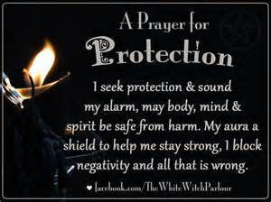 White magick spell chant prayer protection spiritual protect