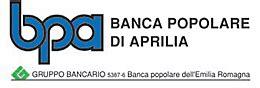 Banca Pop Dell Emilia by Conto Alte Prestazioni Della Banca Popolare Di Aprilia