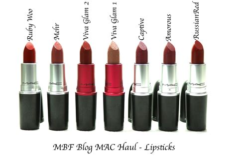 1 Set Makeup Viva mac lipsticks ruby woo mehr viva glam 2 viva glam 1