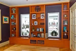Window Bookshelves Custom Bookcase Window Seat By Northwoods Home Store